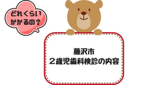 藤沢市2歳児歯科検診の内容